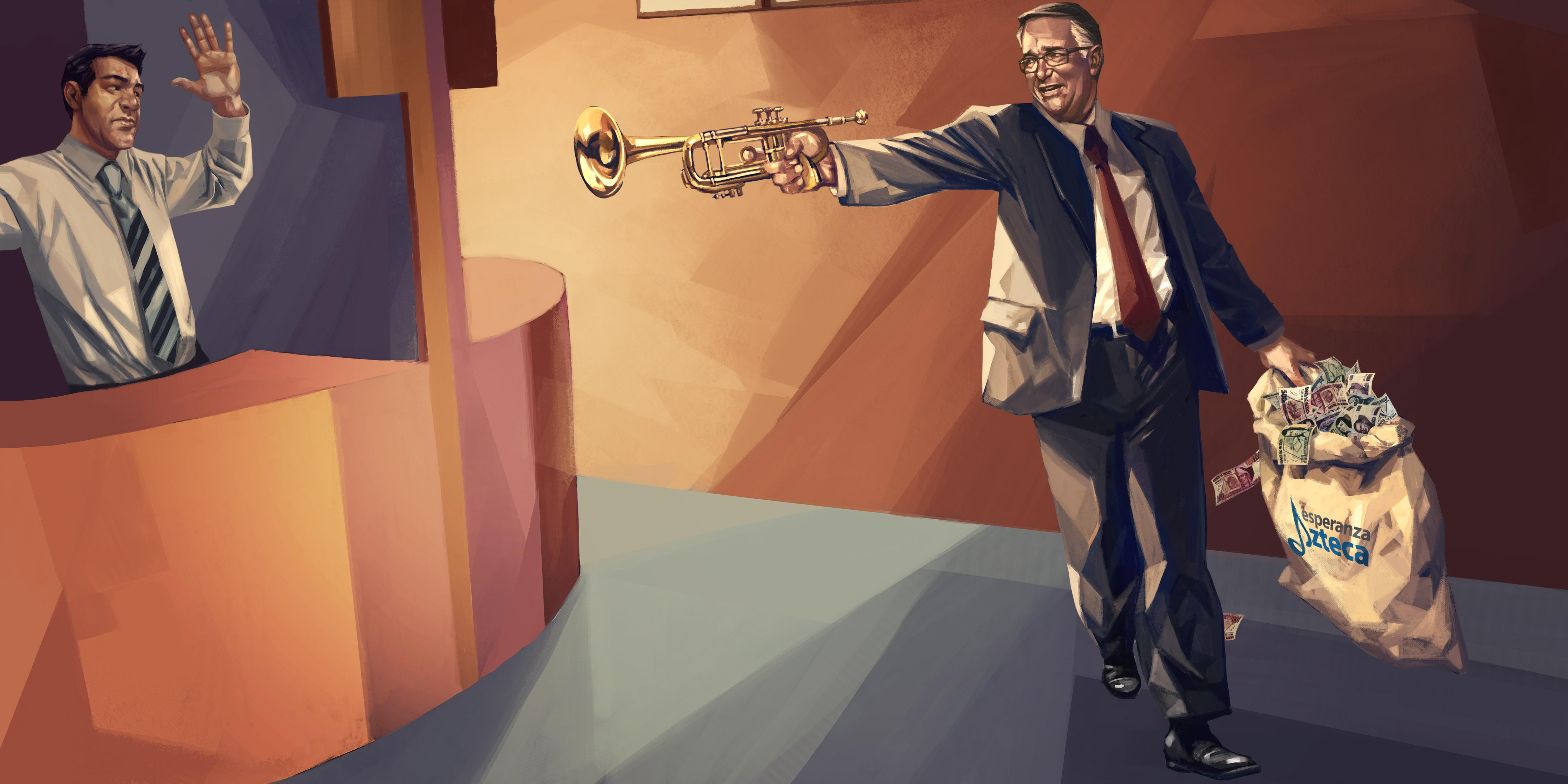 """El """"fraude"""" de Fundación TV Azteca: no da casi nada para sus orquestas"""
